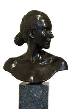 """""""Response in Bronze"""" bronze sculpture by Lewis Bryden   R. Michelson Galleries"""