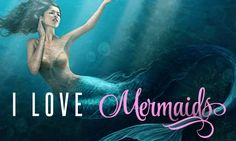 I love mermaids! (And mermaid romance novels...)
