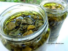 Capers - κάπαρη τουρσί Pickles, Cucumber, Drinking, Greek, Eat, Desserts, Recipes, Food, Kitchens