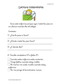 Lecturas comprensivas 11 15 by Natalia Garcia via slideshare Spanish Language Learning, Teaching Spanish, Speech Language Therapy, Speech And Language, Learning Sight Words, Montessori Classroom, Spanish Lessons, Learn Spanish, Learning Quotes