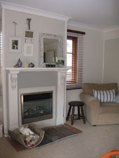 Taubmans Pebble Bay, Taubmans Foxdale and Dulux Antique White USA
