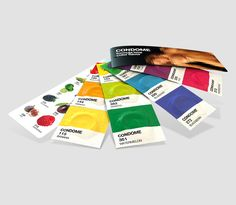 Pantone Condoms (Concept) on Packaging of the World - Creative Package Design Gallery