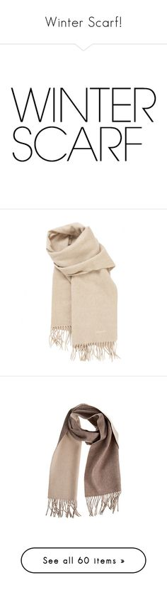 """Winter Scarf!"" by miss-image ❤ liked on Polyvore featuring accessories, scarves, text, accessories - scarves, hermes, cashmere shawl, hermes shawl, hermès, cashmere scarves and hermes scarves"