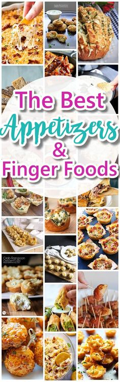 The-Best-Easy-Party-Appetizers-Delicious-Dips-and-Finger-Foods-Recipes-Quick-family-friendly-snacks-for-Holidays-Tailgating-New-Years-Eve-Birthdays-or-Super-Bowl-Parties-Dreaming-in-DIY.jpg 609×1,938 pixels
