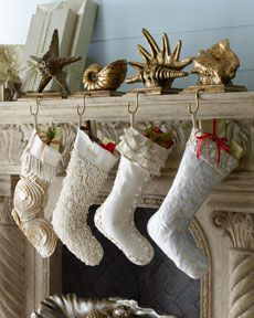 Amazing stocking holders @Stacey Atkins