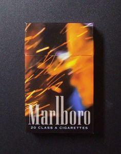 Embalagem de Marlboro - Special Edition - Fire