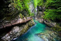 Vintgar Gorge, Slovenia /
