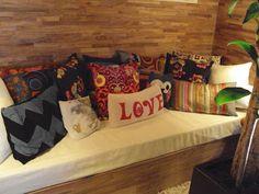Almofadas são confortáveis e muito LINDAS, AMOOOOO!!!!!!!