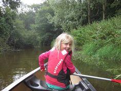 Canoeing on De Dinkel, a beautiful river in Twente http://www.adventureking.nl/website/acties/kano-dinkel/