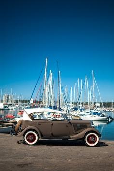 Durban Marina, 1934 Ford Phaeton Dock-Side