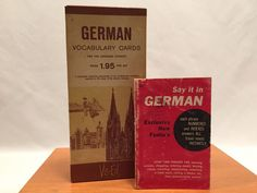 German Vocabulary Cards Vis Ed and Set it in German Book #DoverPublications
