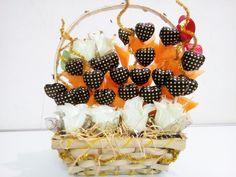 Black always go best with orange Chocolate bouquet representation by  Chocolate venue