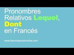 Pronombres Relativos Lequel y Dont en Francés