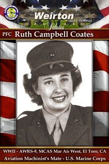 Sermon Delivered at the Service for Ruth Coates - There Are No Former Marines