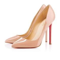 Nude heels CL Christian Louboutin Pigalle Pumps Nude Brings You Happier Life And Makes You Relexed In The Work Time! I need those shoes ! Stilettos, Pumps Nude, High Heels, Stiletto Pumps, Women's Pumps, Shoes Heels, Blush Heels, Glitter Pumps, Pink Pumps