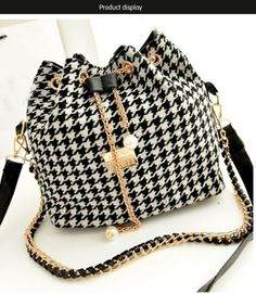 37055721a58 Drawstring Bag Patchwork Patterns Shoulder Messenger Bag Women Handbag  Chain Bag Diagonal Package Canvas Totes Alibaba