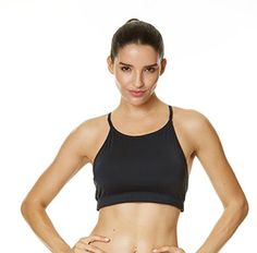 2c1713234ec4e Newstep Womens Wire free Workout SportsBra yoga tops Black S    For more  information