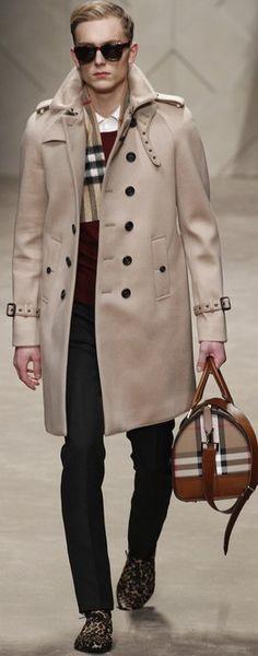 Burberry Prorsum Fall 2013 Menswear ♥✤   Keep the Glamour   BeStayBeautiful