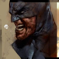 Ben Oliver - And Darth Vader Dc Comics, Batman Comics, Comic Book Artists, Comic Artist, Comic Books Art, Batman Kunst, Batman Art, Ben Oliver, Batman Painting