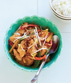 Chicken and Lemongrass Curry, page 101 CSIRO Total Wellbeing Diet Recipes on a Budget.