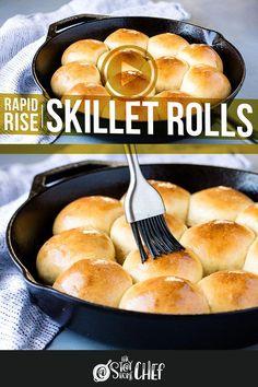 Quick Yeast Rolls, Best Yeast Rolls, Homemade Yeast Rolls, Homemade Dinner Rolls, Rapid Rise Yeast Rolls Recipe, Homemade Dinners, Homemade Breads, Quick Dinner Rolls, No Yeast Dinner Rolls