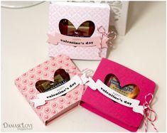"Cajas mini de San Valentín - mini Valentine ""boxes"""