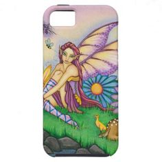 Spring Daisy Fairy and Animal Friends iPhone 5 Case