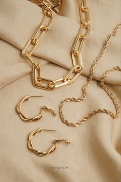 18K Gold Filled Chain Necklace