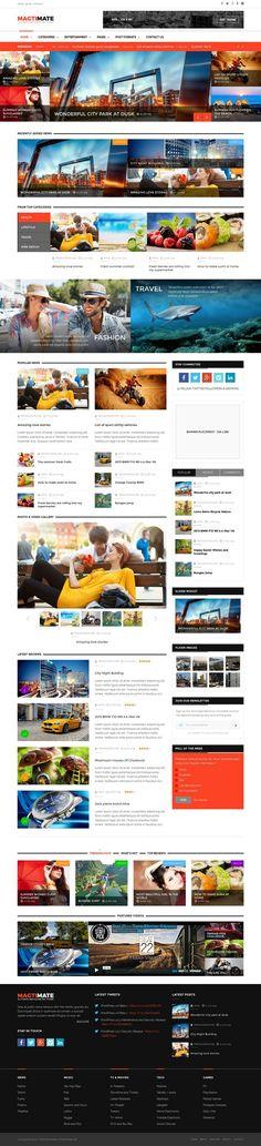 Magic - Multipurpose Creative WordPress Theme | Creativo, Tema de ...