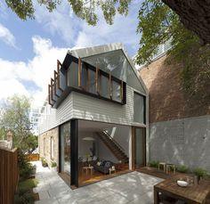 Australian architect Christopher Polly. Elliott Ripper House in Rozelle, Sydney