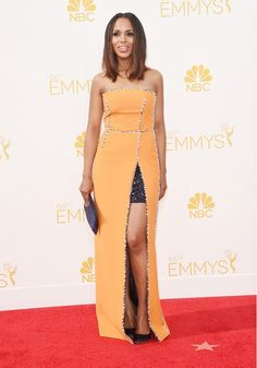 Kerry Washington in Prada, 2014 Emmys