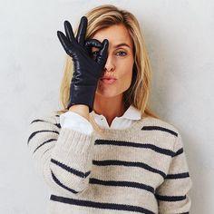 Leather Gloves, Winter, Fashion, Fashion Styles, Winter Time, Moda, Fashion Illustrations, Winter Fashion