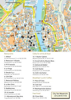 Urban Residences' favorite picks to eat and drink in Maastricht!