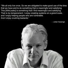 Julian Assange...