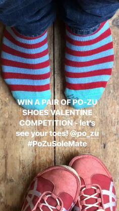 WIN A PAIR OF PO-ZU SHOES VALENTINE COMPETITION - let's see your toes! Po-Zu Shoes  #PoZuSoleMate https://video.buffer.com/v/589dc73623708515538b4575