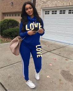 7098eecf5211 LOVE Letter Print Tracksuit 2 Piece Set Search LSD-8189 shop in bio! Two