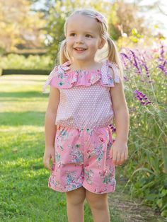 Don't Let Being Comfy Stop You From Looking Cute-As-A-Button! Peach Paint, Boho Flower Girl, Floral Playsuit, Playsuits, Summer Dresses, Collection, Style, Fashion, Swag