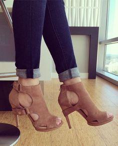 Jessica Simpson Faina - Mauve Suede - Heels