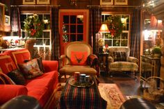 Beaux Mondes Designs: Our First Christmas At The Dacha