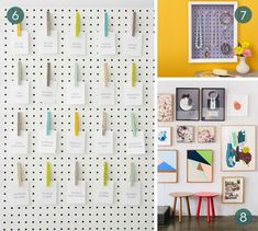 Cool new uses for pegboard! #DIY