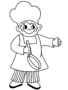 Výsledek obrázku pro kuchař omalovánka Job Offer, Smurfs, Cook, Fictional Characters, Art, Art Background, Kunst, Performing Arts, Fantasy Characters