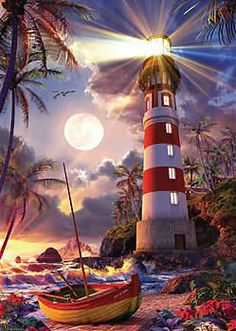 Lighthouse  :) jigsaw puzzle by Ravensburger