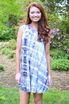 Arden Tie-Dye Swing Dress Size: small Price: $39.99