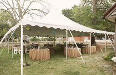What the tent will likely look like. I want walls though. Late September wedding could get chilly!