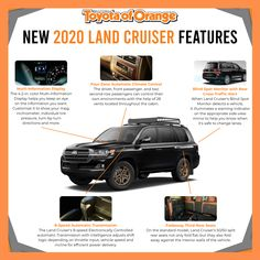 Are you a fan of the appropriately-named Land Cruiser? After checking out this slew of features in the 2020 Land Cruiser, you sure will be! Visit our express store to see our stock and prices!   #ToyotaofOrange #Toyota #ToyotaUSA #ToyotaSoCal #SouthernCalifornia #SoCal #ToyotaCars #ToyotaTrucks #OC #Orange #OrangeCA #Orangecounty #OrangeCountyCA #landcruiser #toyotalandcruiser Toyota Trucks, Toyota Cars, Toyota Usa, Express Store, Toyota Land Cruiser, Orange County, The Help, Oc