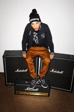 Dudley O'Shaughnessy for Fishbone Autumn Collection 2013 at New Yorker
