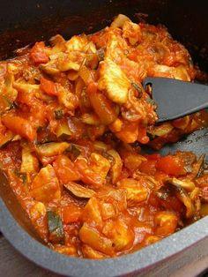 Kuchnia szeroko otwarta: Obłędnie pyszna potrawka, Słodko-ostry smak. Z kurczakiem lub bez.