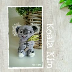 Patroon van Koala Kim Crochet Designs