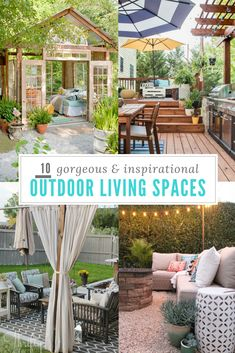 725 Best Outdoor Decorating Images On Pinterest In 2018 Backyard