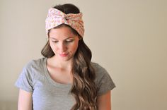 3 DIY turban tutorials: totally want to make these for the summer